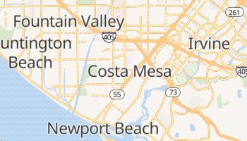 Costa Mesa, California map