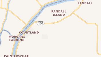 Courtland, California map