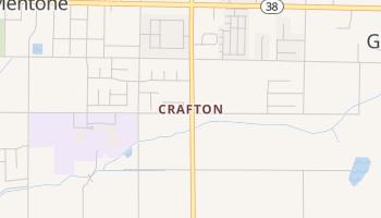Crafton, California map