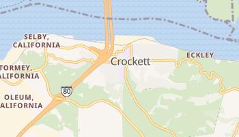 Crockett, California map
