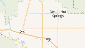 Desert Hot Springs, California map