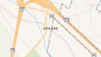 Devore, California map