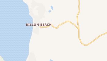 Dillon Beach, California map