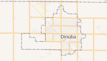 Dinuba, California map