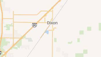 Dixon, California map