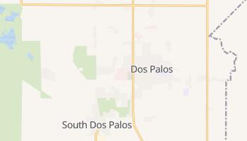 Dos Palos, California map