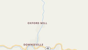Downieville, California map