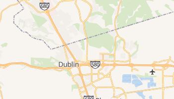 Dublin, California map