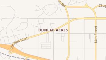 Dunlap Acres, California map