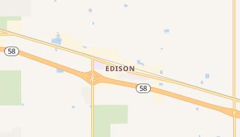 Edison, California map