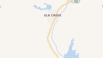 Elk Creek, California map