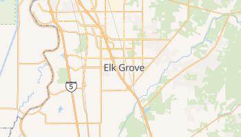 Elk Grove, California map