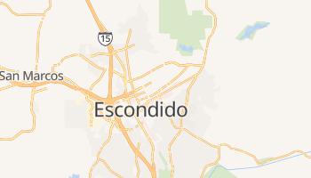 Escondido, California map