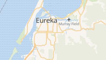 Eureka, California map