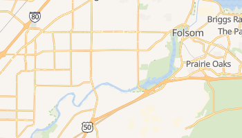 Fair Oaks, California map