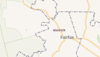 Fairfax, California map
