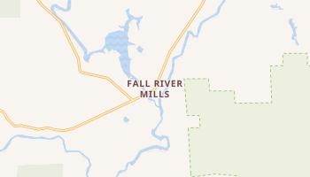 Fall River Mills, California map