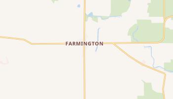 Farmington, California map