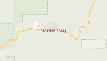 Feather Falls, California map