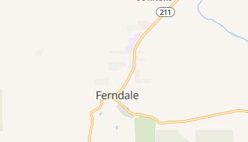 Ferndale, California map