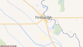 Firebaugh, California map