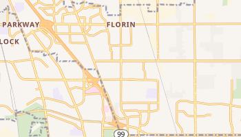 Florin, California map