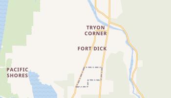 Fort Dick, California map