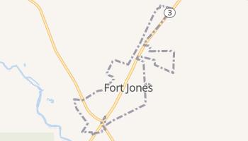 Fort Jones, California map