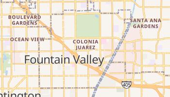 Fountain Valley, California map