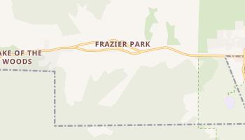 Frazier Park, California map