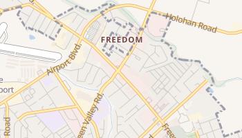 Freedom, California map
