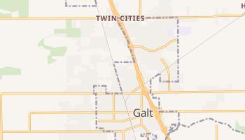 Galt, California map