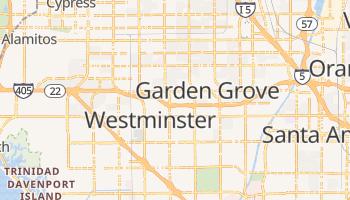 Garden Grove, California map