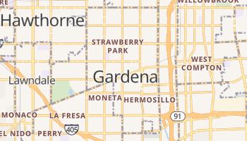 Gardena, California map