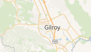 Gilroy, California map