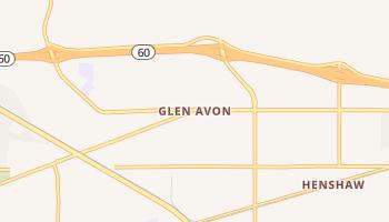 Glen Avon, California map