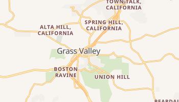 Grass Valley, California map