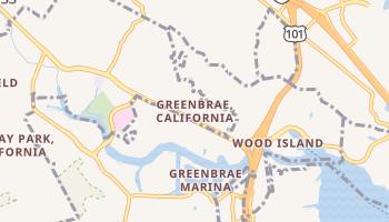 Green Brae, California map