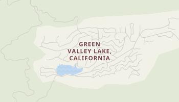 Green Valley Lake, California map