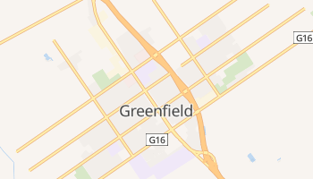 Greenfield, California map