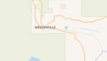 Greenville, California map
