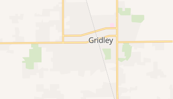 Gridley, California map