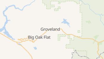 Groveland, California map