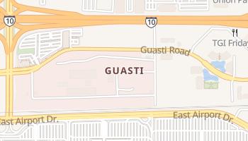 Guasti, California map