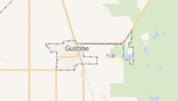 Gustine, California map
