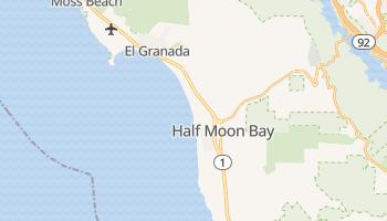 Half Moon Bay, California map