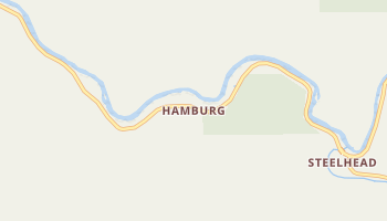 Hamburg, California map