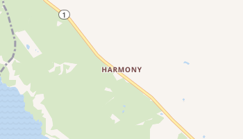 Harmony, California map