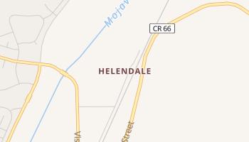 Helendale, California map