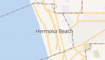 Hermosa Beach, California map